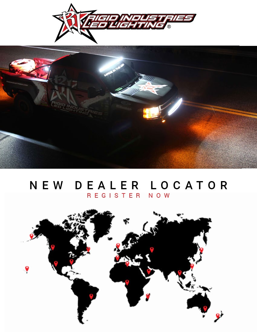 Rigid Industries NEW Dealer Locator