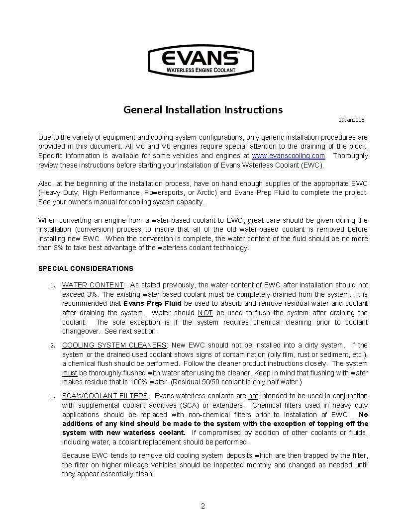 Evans General Installation Booklet 19Jan15_Page_2
